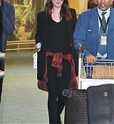 Dakota Johnson Arriving in Vancouver - October 12th