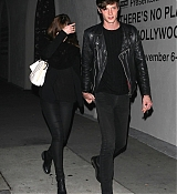 Dakota and Matthew at Pikey Bar in LA - November 11