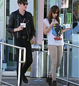 Dakota Johnson In Los Angeles with Matthew Hitt - November 4th