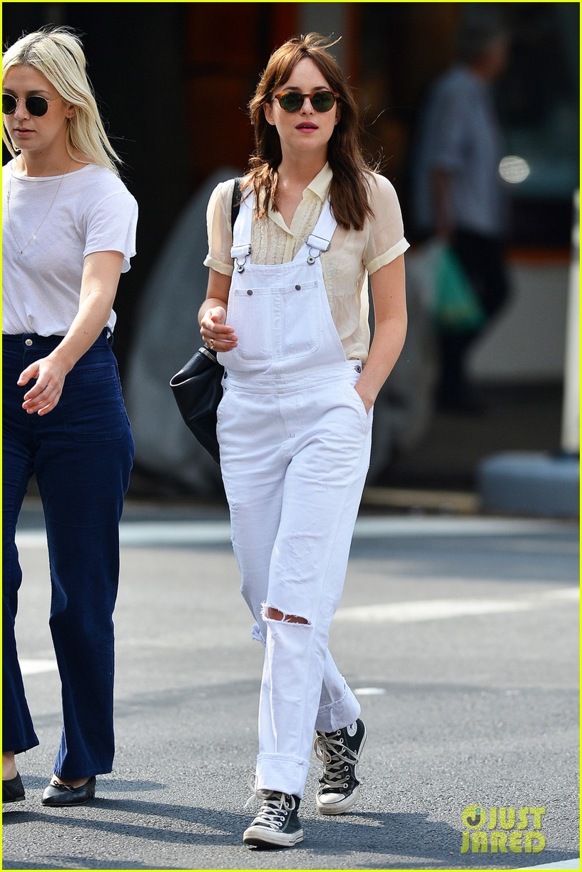 Dakota Johnson Out In SoHo - September 18