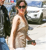 Dakota Johnson Arrives To Her Hotel - May 4