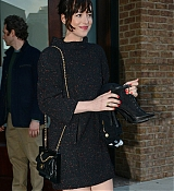 Dakota Johnson Arrives at Hotel - March 30