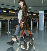 Dakota Johnson Arrives at JFK Airport - March 28