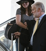 Dakota Johnson Arrives at LAX Airport - January 30