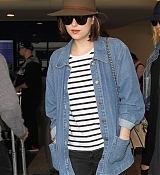Dakota Johnson Arrives at LAX Airport - June 5