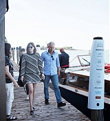Dakota Johnson Arrives at Venice Movie Stars Lounge - September 7