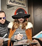 Dakota Johnson Arriving in Berlin - February 11