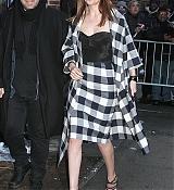Dakota Johnson Arrives at David Letterman Show - February 17