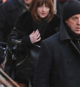 Dakota Johnson Filming Saturday Night Live - February 27