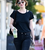 Dakota Johnson Strolls The Streets in LA - February 2
