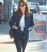 Dakota Johnson Out in Los Feliz With A Friend - January 19