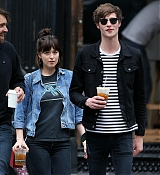 Dakota Johnson and Matt in NYC - May 9