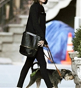 Dakota Johnson at In NYC with Zeppelin - April 16