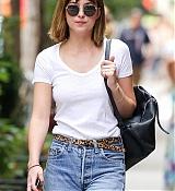 Dakota Johnson in NYC - August 30