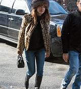 Dakota Johnson In New York City - February 10