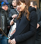 Dakota Johnson In New York City - February 10