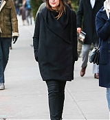 Dakota Johnson In New York City - February 16