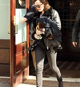 Dakota Johnson Leaves Hotel in NYC - Feb 25
