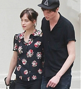 Dakota Johnson and Matthew Hitt in New York City - June 20