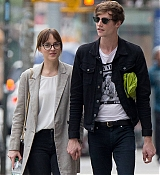 Dakota Johnson In New York City with Matt - October 9