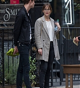 Dakota Johnson In New York City with Matt - October 9