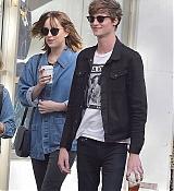 Dakota Johnson and Matt Hitt in NYC - September 21