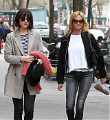 Dakota Johnson in NY with Melanie - April 17