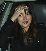 Dakota Johnson Leaving Chateau Marmont - January 13