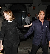 Dakota Johnson Leaving Craig's with Dad Don Johnson - September 18