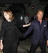 Dakota Johnson Leaving Craig's with Dad Don Johnson - September 18