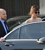 Dakota Johnson Leaving Dior Fashion Show - March 6