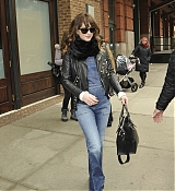 Dakota Johnson Leaving Her Hotel in NYC - Feb 26
