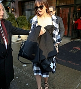 Dakota Johnson Leaving Hotel in NYC - February 17