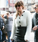 Dakota Johnson Leaving Hotel in NYC - February 6