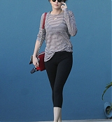 Dakota Johnson leaving Pilates Class - January 27