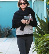 Dakota Johnson Leaving Pilates Class Today - January 2
