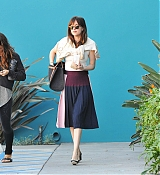 Dakota Johnson Leaving Yoga Class- January 6