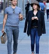 Dakota Johnson Out With Derek Blaskberg in NYC - July 28