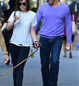 Dakota Johnson Walking Zeppelin in SoHo - May 8