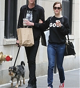 Dakota Johnson and Matthew Stroll in NYC - June 25