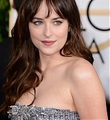 Dakota Johnson Arrives at 72nd Annual Golden Globe Awards - January 11