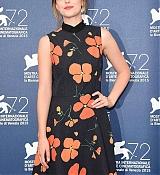 Dakota Johnson Arrives at 'A Bigger Splash' Venice Film Festival Press Conference - September 6