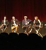 Dakota Johnson Speaks An Official Academy Screning of 'Black Mass' - September 10