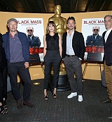 Dakota Johnson Speaks An Official Academy Screning of 'Black Mass' - September 10