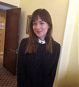Dakota Johnson at Glamour UK Headquarters for QandA Session - February 13