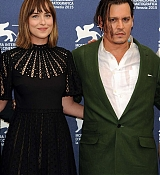 Dakota Johnson & Johnny Depp Arrive at