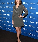 Dakota Johnson at 'Black Mass' TIFF Press Conference - September 14