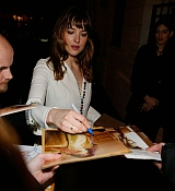 Dakota Johnson at Christian Dior Private Dinner - March 6