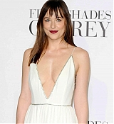 Dakota Johnson Arrives at Fifty Shades Of Grey UK Premiere - February 12