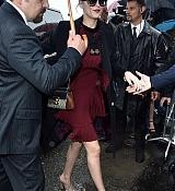 Dakota Johnson Arrives at Gucci Milan Fashion Week SS16 - September 23